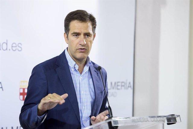 El concejal de Desarrollo Urbano y Vivienda de Almería, Miguel Ángel Castellón