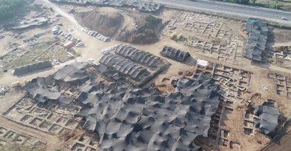 Restos de una gran ciudad de la Edad del Bronce aparecen en Israel
