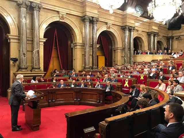 Moción de censura al presidente de la Generalitat, Quim Torra
