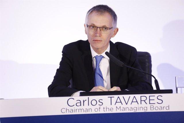Carlos Tavares, presidente del Grupo PSA
