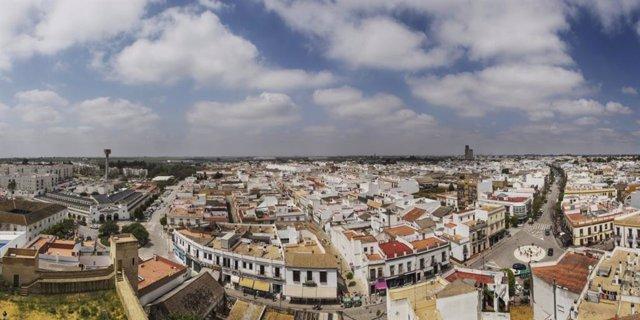 Vista de Utrera (Sevilla)