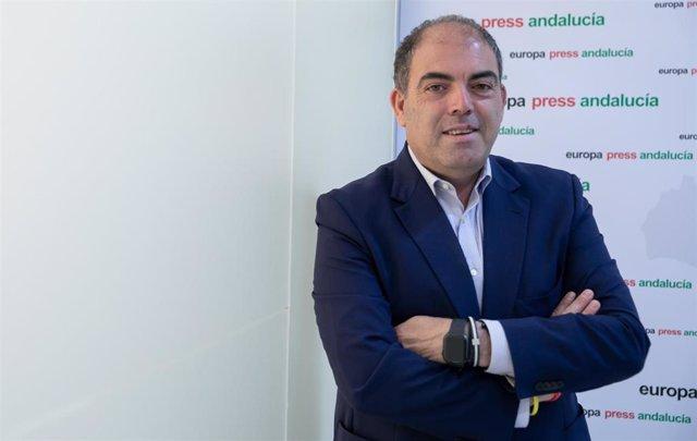 El presidente de ATA, Lorenzo Amor, en una imagen de archivo de una entrevista con Europa Press.