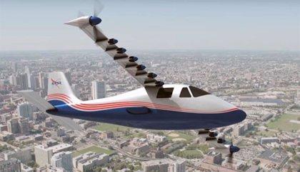 La NASA trabaja en el primer avión experimental totalmente eléctrico