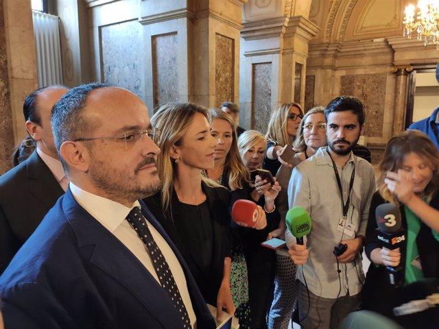 Alejandro Fernández i Cayetana Álvarez de Toledo (PP)