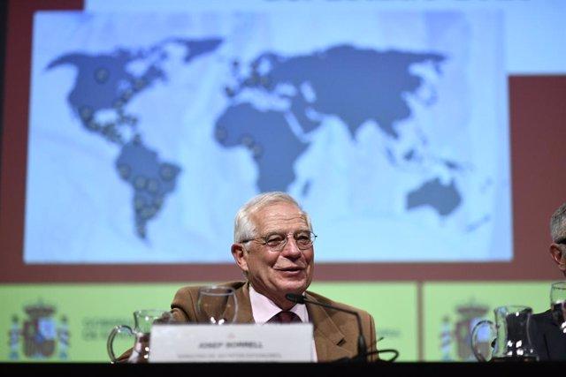 El ministre d'Afers Exteriors, Unió Europea i Cooperació, Josep Borrell