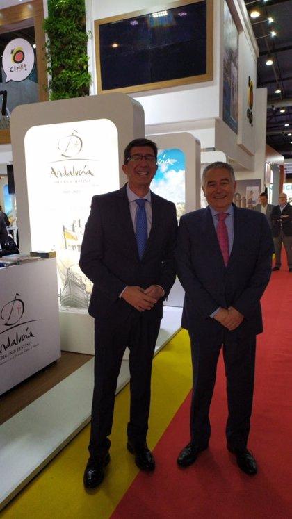 Marín destaca en Argentina la oportunidad que ofrece la ruta de Magallanes para proyectar Andalucía en el mundo