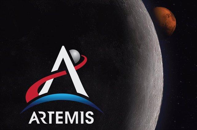Identificación del programa Artemisa de la NASA.