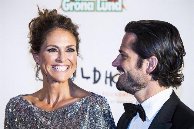 Princesa Magdalena de Suecia y Príncipe Carlos Felipe de Suecia