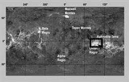 Evidencia de que Venus no fue en el pasado como la Tierra