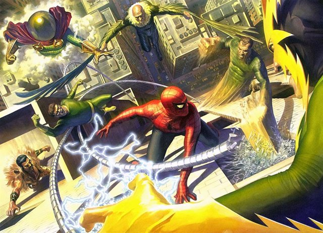 Spider-Man vs Los Seis Siniestros