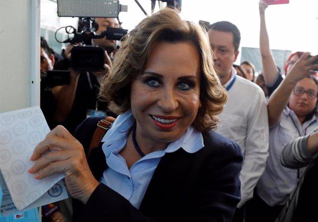 La ex primera dama de Guatemala Sandra Torres