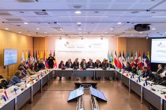 La II Reunión Iberoamericana de Ministros de Asuntos Sociales ha empezado este lunes en Andorra
