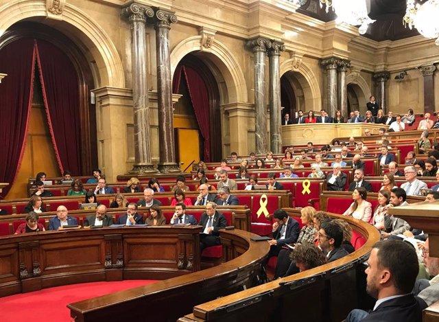 Moció de censura al president Quim Torra