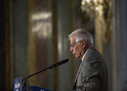 AMP.- UE.- Borrell avanza a la Eurocámara que se prevén más sanciones a venezolanos y que su primer viaje será a Kosovo