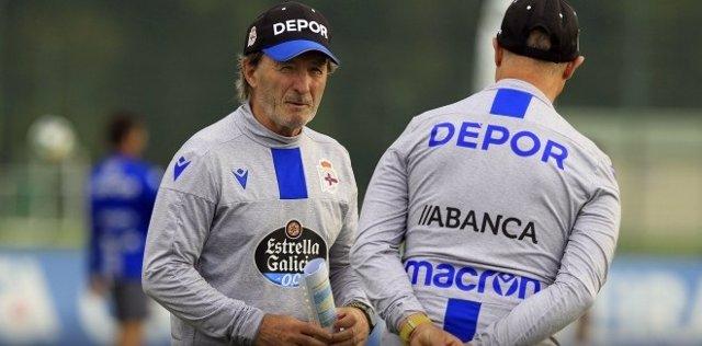 Fútbol.- Juan Antonio Anquela, destituido como entrenador del RC Deportivo