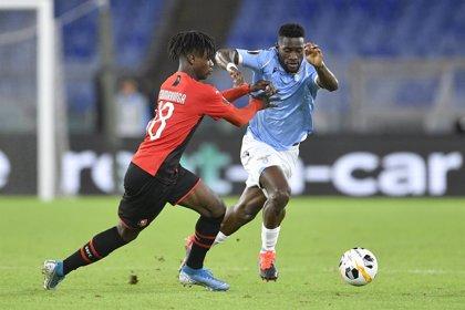 La UEFA abre expediente a la Lazio por incidentes racistas en el partido de Liga Europa ante el Rennes