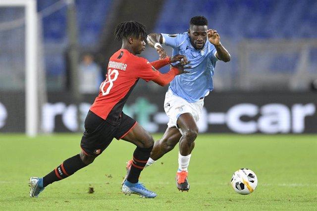 Fútbol.- La UEFA abre expediente a la Lazio por incidentes racistas en el partid