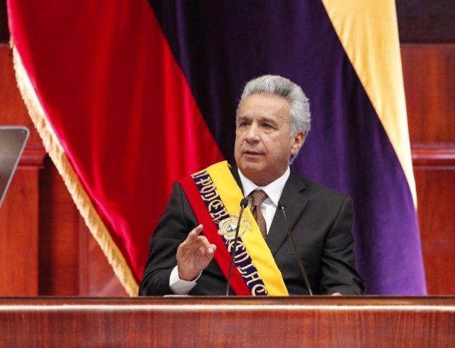 El presidente de Ecuador, Lenín Moreno.