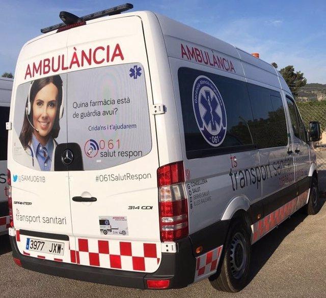 Ambulancia de Baleares