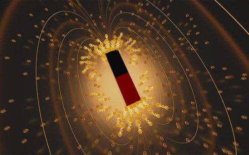 Ilustración artística de la 'superconductividad de Lázaro'