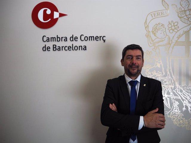 El president de la Cambra de Barcelona, Joan Canadell.