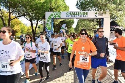 Más de 700 corredores de 35 empresas corren contra el hambre en Madrid