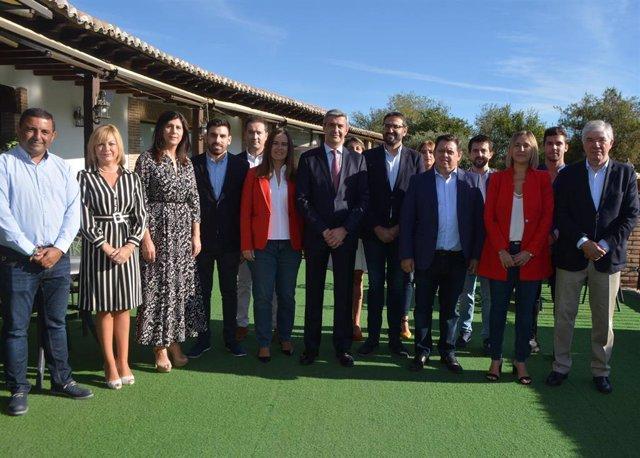 Presentación de los candidatos del PSOE a las elecciones por la provincia de Toledo