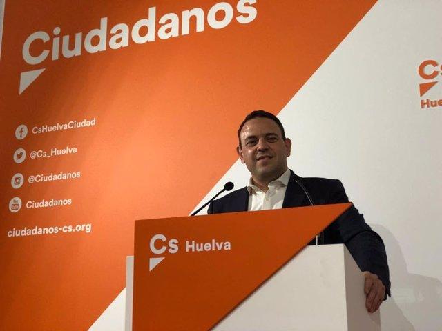 Carlos Hermoso, cabeza de lista de Cs al Congreso de los Diputados por Huelva