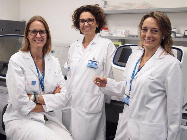 Clara Montagut, Edurne Arriola i Beatriz Bellosillo