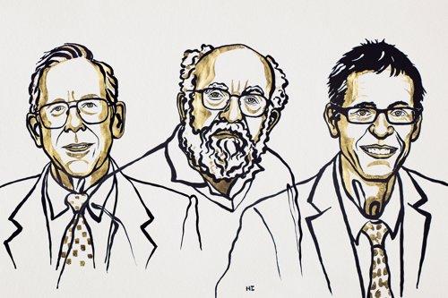 Ganadores del Nobel de Física 2019. Peebles, Mayor y Queloz