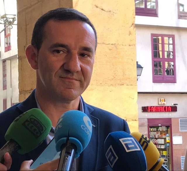 El concejal de Economía del Ayuntamiento de Oviedo, Javier Cuesta.