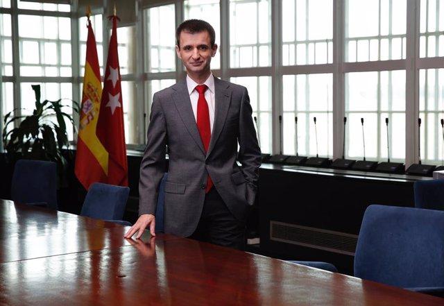 Imagen de recurso del director general de Telemadrid, José Pablo López.
