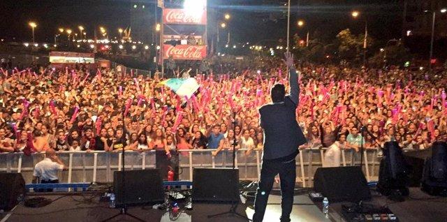 Última edición del concierto Tenerife LOS40 Másmúsicas