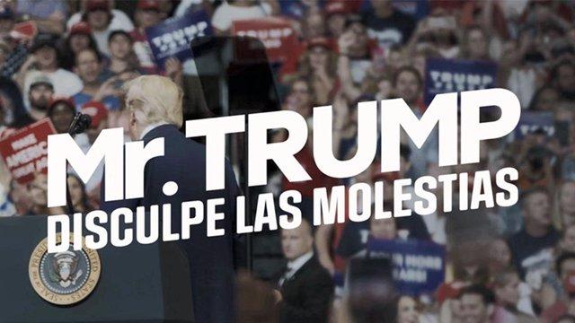 ÛMr. Trump, disculpe las molestias', el documental de Jordi Évole