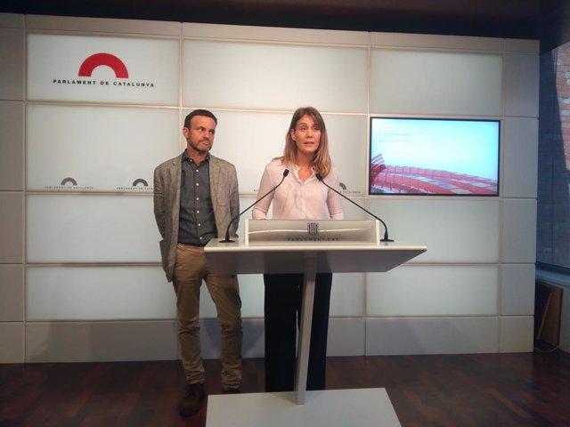 Jaume Asens i Jessica Albiach, ECP