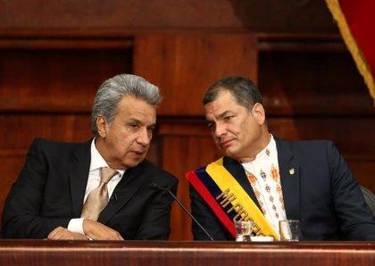 """Ecuador.- Correa responde a las acusaciones de Moreno: """"Los golpistas son ellos que han roto la Constitución"""""""