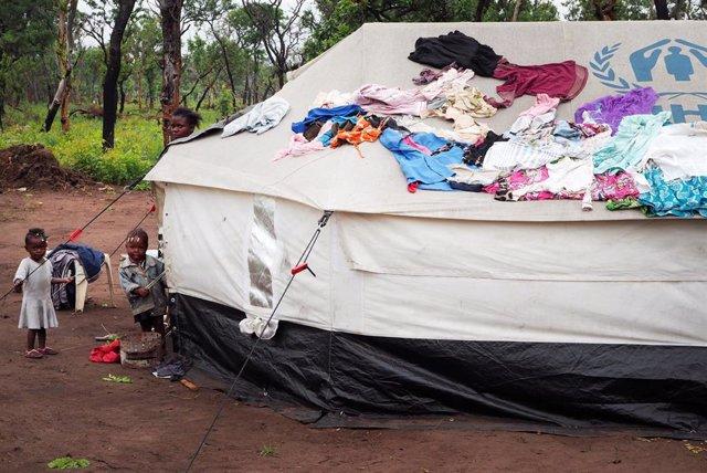 Refugiados congoleños en Angola