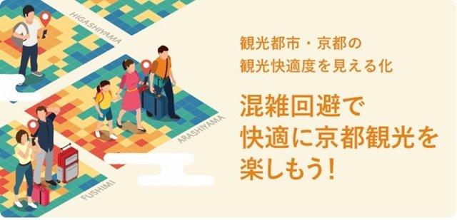 Herramienta Kyoto Tourism Navi para predecir la densidad de turistas en Kyoto (Japón)