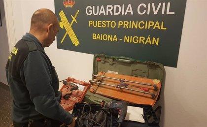 Detenido por robar herramientas de una obra en Baiona de la que había sido despedido