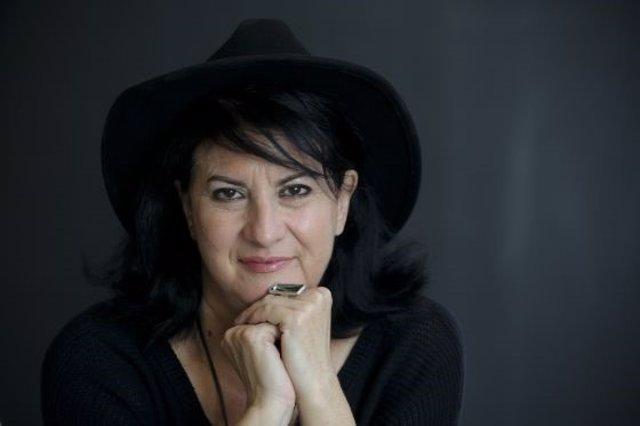 La poeta almeriense Aurora Luque, ganadora del Premio Loewe de Poesía 2019.