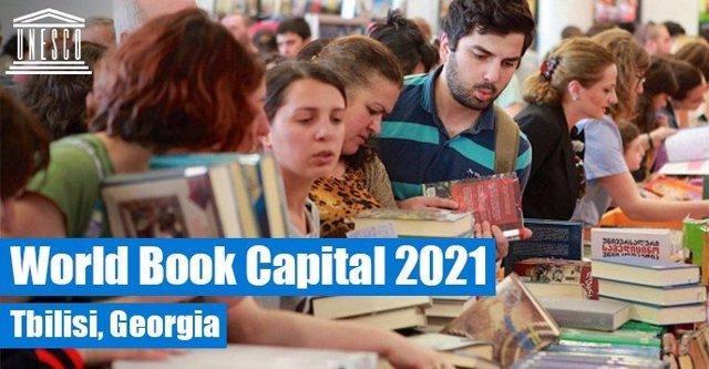 Tiflis, Capital Mundial del Libro 2021.