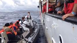Europa.- Malta recoge a los 44 migrantes rescatados por el Open Arms
