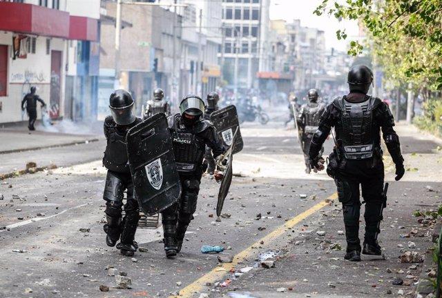 Protestes a Quito