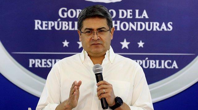 Honduras.- Juan Orlando Hernández niega haber recibido dinero de 'El Chapo'