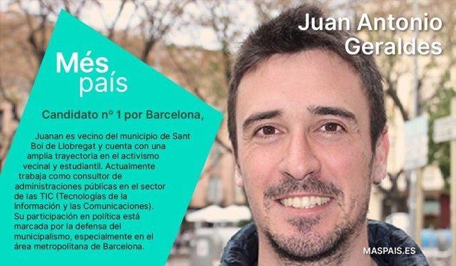 Presentació del candidat de Més Barcelona a les eleccions generals