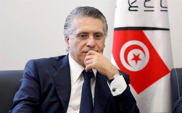 El magnate Nabil Karoui, candidato a la Presidencia de Túnez