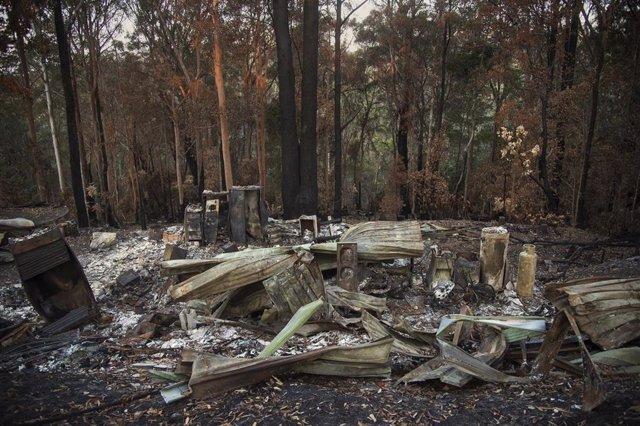 Incendios en el este de Australia