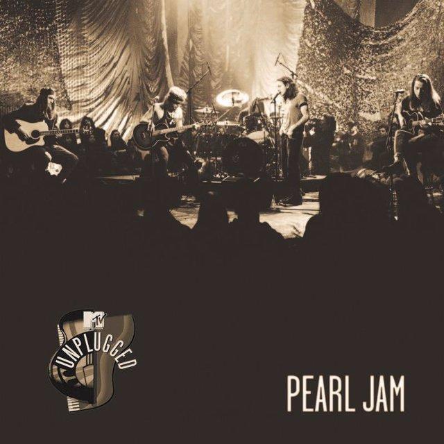 Portada del MTV Unplugged de Pearl Jam