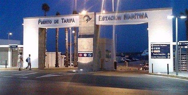 Entrada puerto de Tarifa