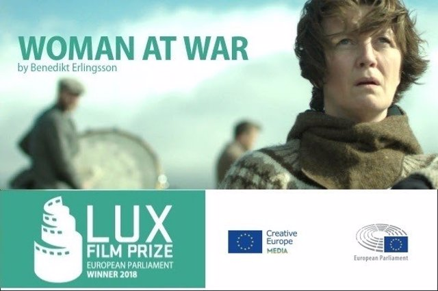 Cartel promocional de 'Woman at War'.